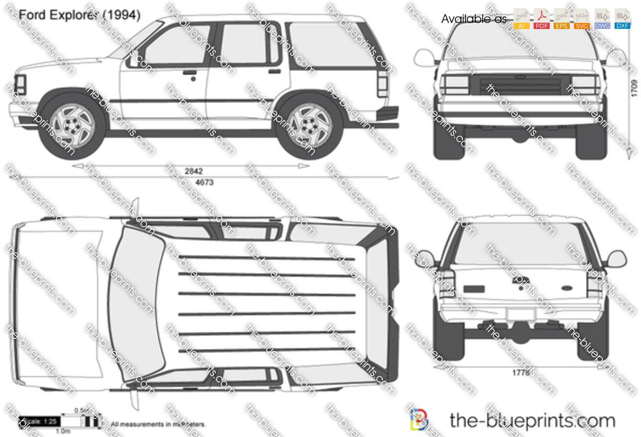 Ford Explorer Dimensions