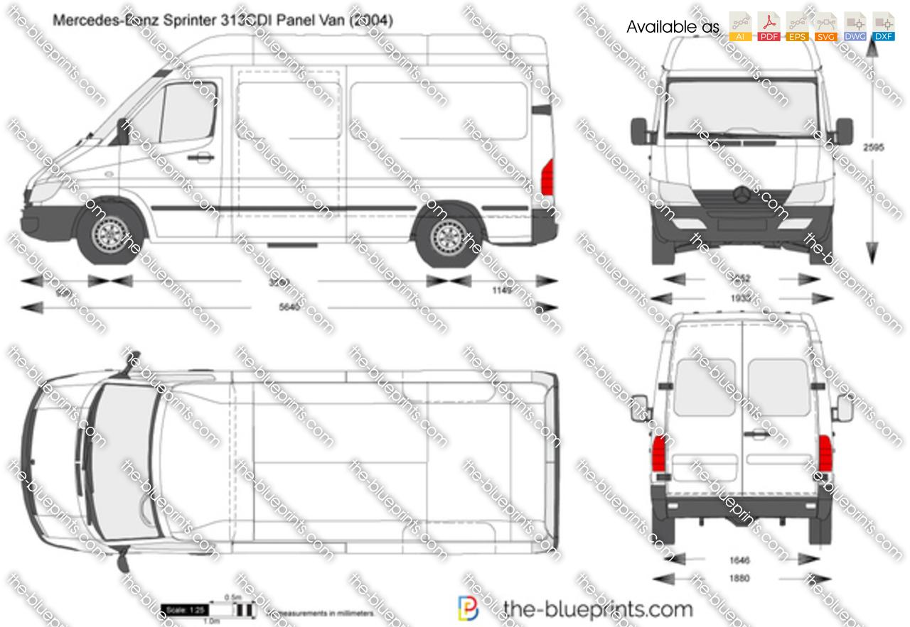 Mercedes Sprinter 313 Cdi Hr Dimensions