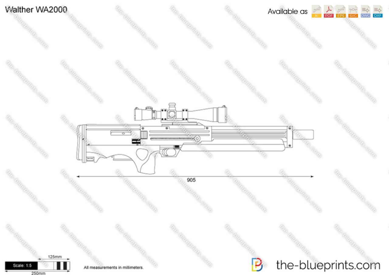 Walther Wa Vector Drawing
