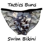 Tactics Buns Swim Bikini