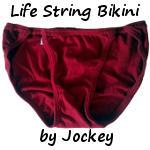 Life String Bikini by Jockey