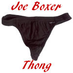 Joe Boxer Thong Review