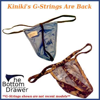 Kiniki has brought back their G-strings
