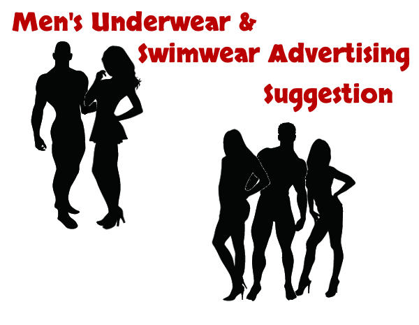 Men's Underwear Swimwear Advertising Suggestion
