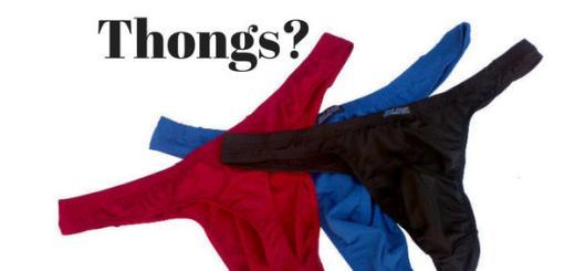 Can Men Wear Thongs?