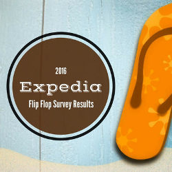 Expedia's Flip Flop Survey 2016