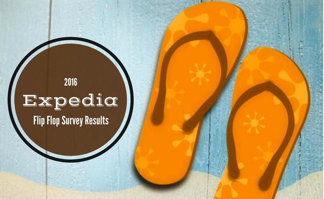 2016 Expedia Flip Flop Survey Results