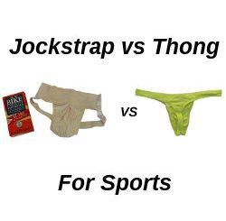 jockstrap vs thong for sports