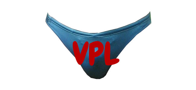 VPL swim bikini brief thongs