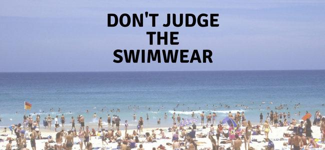 Don't Judge The Swimwear