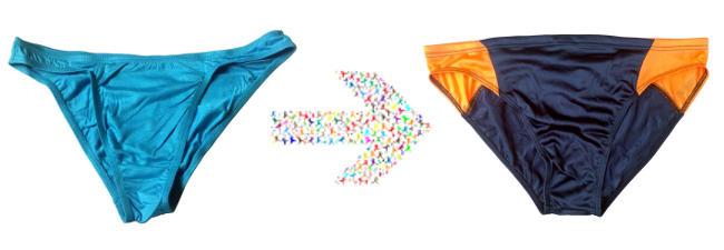Underwear to Swimwear