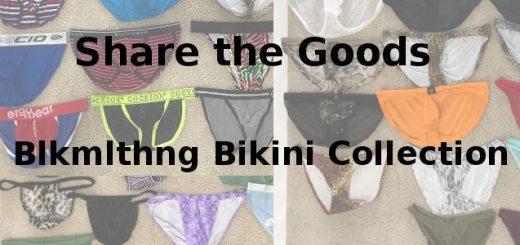 Share the Goods Blkmlthng bikini collection