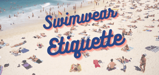 Swimwear Etiquette