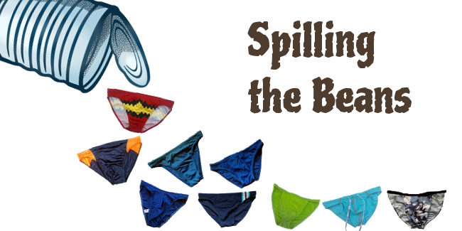 Spilling the beans on Swim Briefs