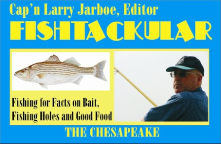 Fishing and Wild Story Editor Cap'n. Larry Jarboe