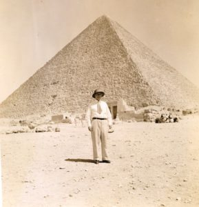 Jack Rue in Egypt