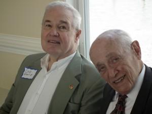 Mayor Chip Norris & Gov. Marvin Mandel / The Chesapeake photo