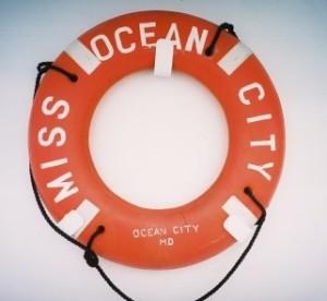 Miss Ocean City life ring