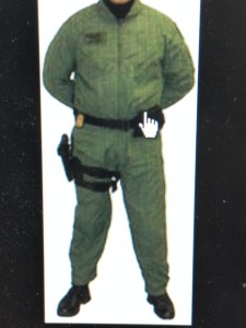 The flight suit that was stolen from a Maryland State Trooper appeared much like this photo.
