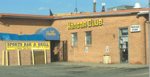 The Hangar Club in Allentown, Md. near Andrews Air Force Base, where many a gal blew a wad of money on strippers.