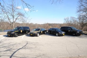 Maryland State Police vehicle lineup