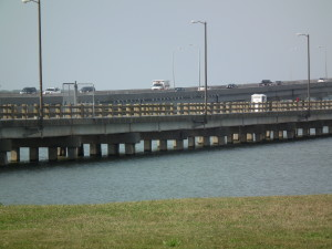 Old Choptank River bridge retained as the Bill Burton Fishing Pier