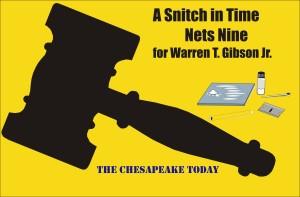 Snitch in time nets nine for Warren Troy Gibson Jr