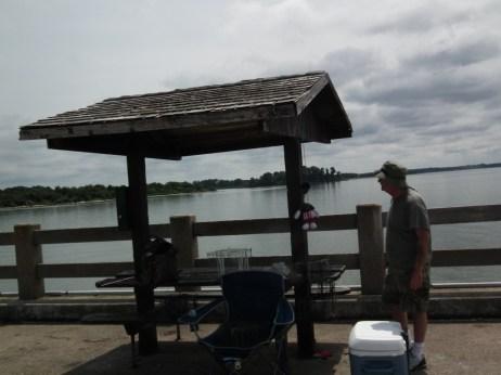 Tony Averella prepares to pack up his crabbing equipment. THE CHESAPEAKE TODAY photo