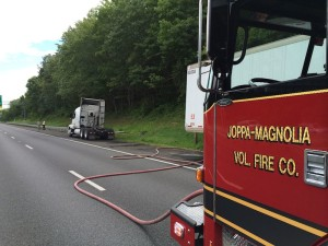 Truck driver saved a load of books on I-95