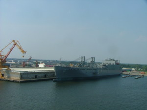 The port at Norfolk, Virginia. THE CHESAPEAKE TODAY photo