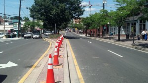 Prince Georges County is erecting a fence on median strips to restrain intoxicated students at College Park from crossing Rt. 1 (Baltimore Ave.) and being struck and killed, due to being either too drunk or too stupid to use crosswalks.