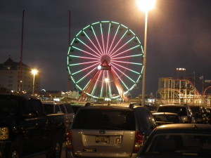 Ocean City Pier is one of the many attractions for the popular resort. THE CHESAPEAKE TODAY photo