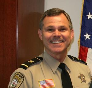 Stafford County Sheriff Charles Jett