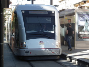 light rail at Seville