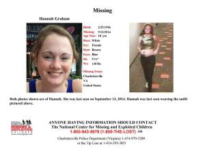 Hannah Graham remains found