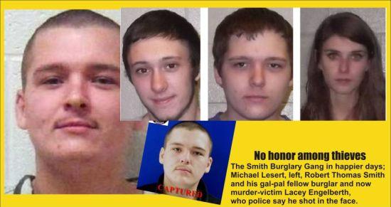 Robert Thomas Smith Burglary Gang now with a murder