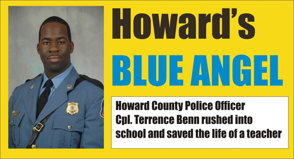 Howard's Blue Angel saved life of teacher