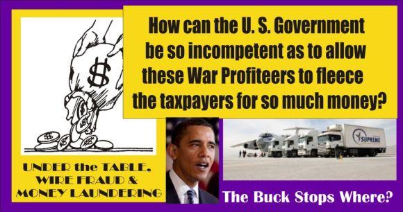 Illegal War Profiteers Plead Guilty