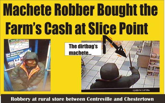 Royal Farms robber had machete 120814