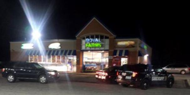Royal Farms robbery Chestertown with robber armed with machete