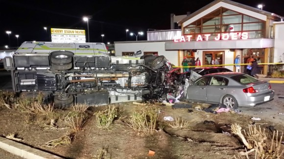 Stolen ambulance in PG County was wrecked and in the process, the criminal who took the rig killed a man.
