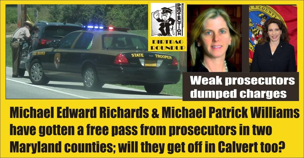 Walmart shoplifter Michael Edward Richards Michael Patrick Williams MSP PF 122214