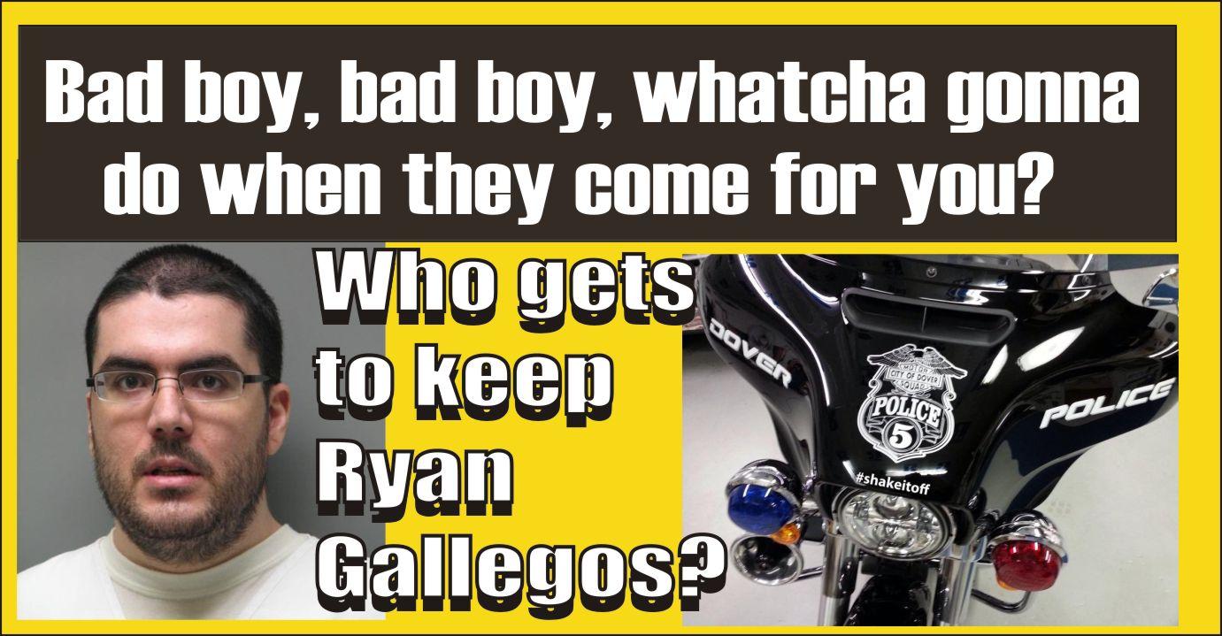 Dover wants him so does Camden Police - Ryan Gallegos