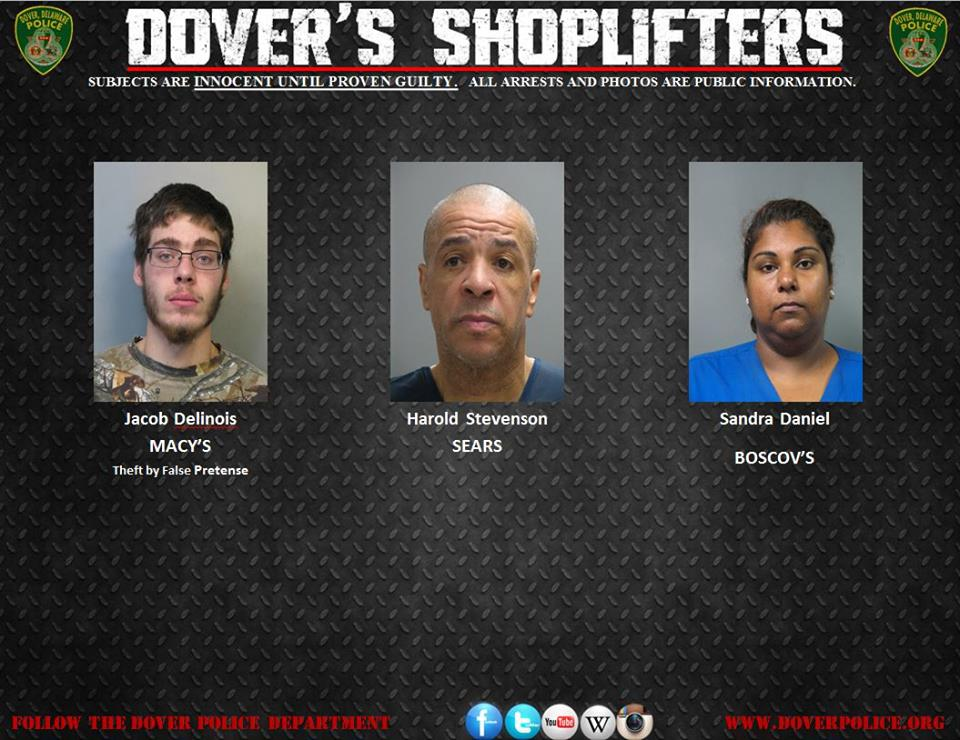 Dover's Undocumented Shoppers of Jan 21 2015