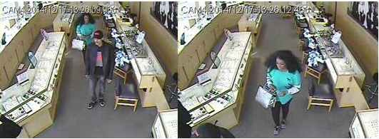 Jewelry store theft PGPD 011415