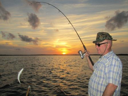 The Sunset Years of a Fisherman. THE CHESAPEAKE TODAY photo by Carlene Jarboe