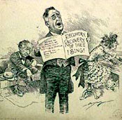 FDR of thee I sing 1933 Clifford Kennedy Berryman, Library of Congress