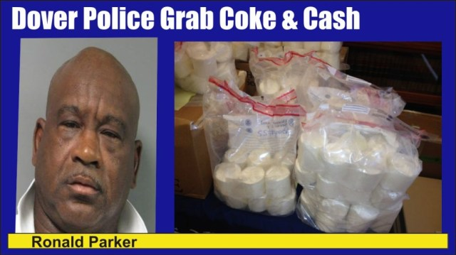 Ronald Parker charged with coke and cash