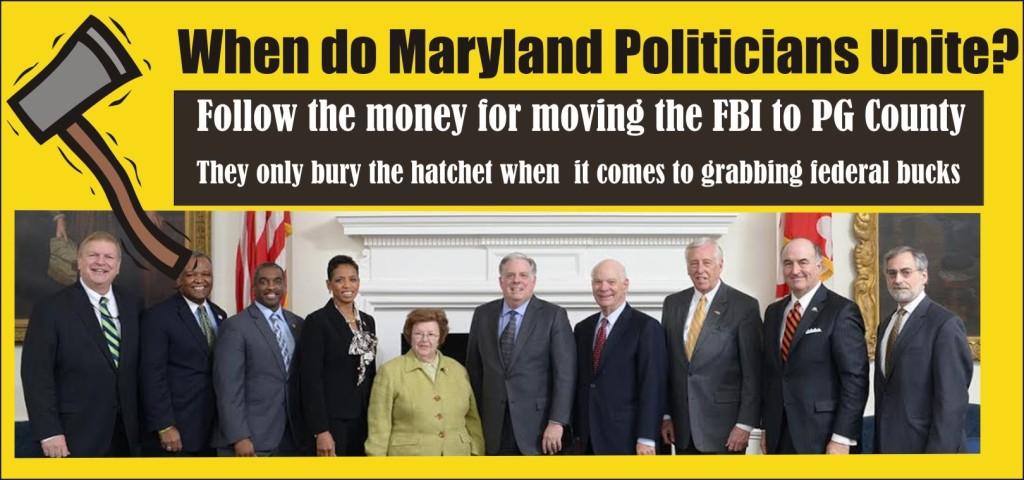 When do Maryland Politicians Unite