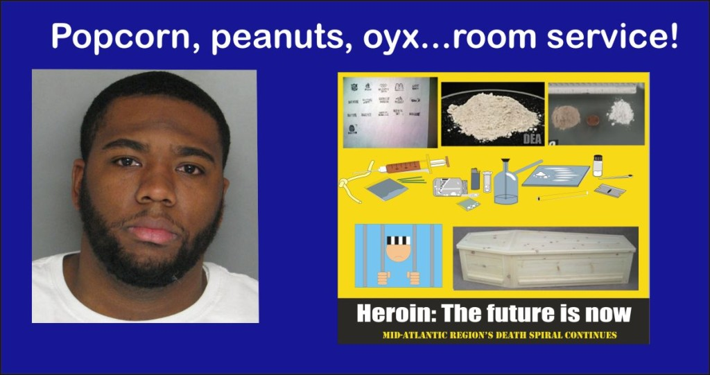 Baltimore jail guard Melvin Hodges busted for smuggling drugs into jail